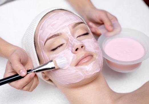 Альгинатная маска для лица изоражения