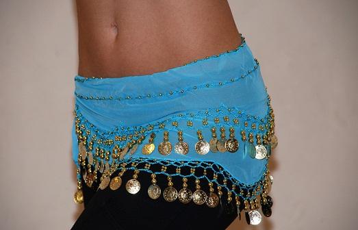 Пошив основы пояса для танца живота 1