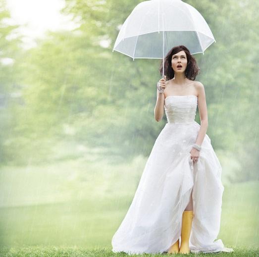 Что делать в день свадьбы если дождь