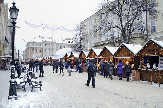 Как встретить Новый год и Рождество во Львове?