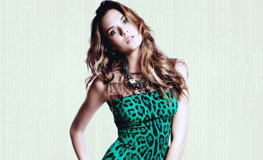 Платье цвета леопарда