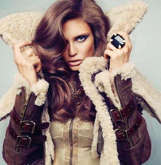 Как выбрать и модно носить дубленку?