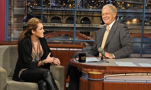 Show with David Letterman