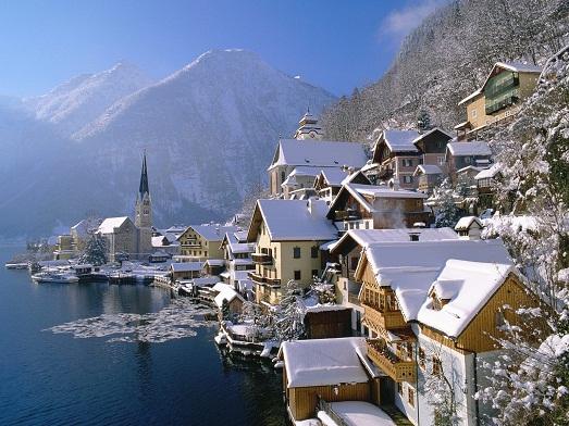 Есть и снежные курорты