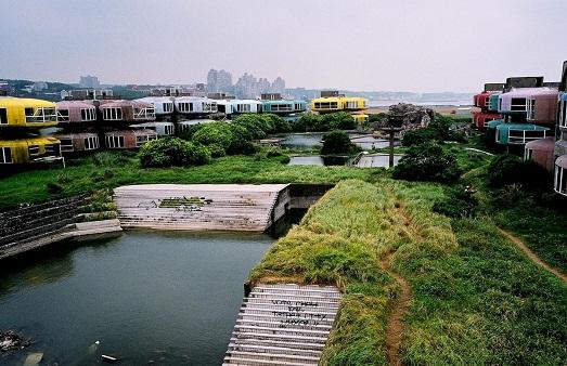 Город Сан Жи в Тайвани