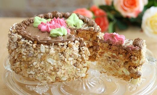 Киевский торт. Рецепт Киевского торта в домашних условиях 96