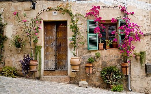 Традиционные дворики