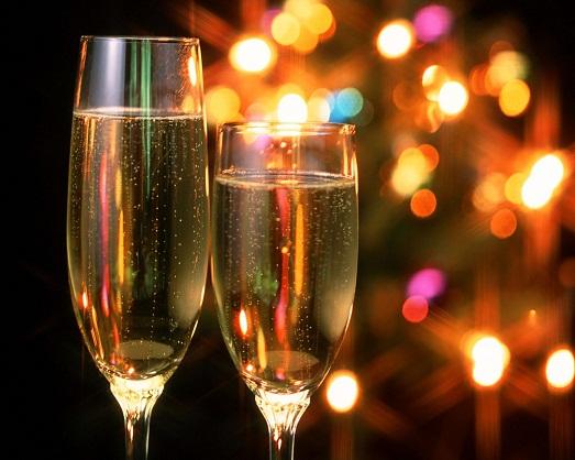 Как быстро открыть шампанское?