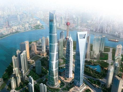 Огромные здания