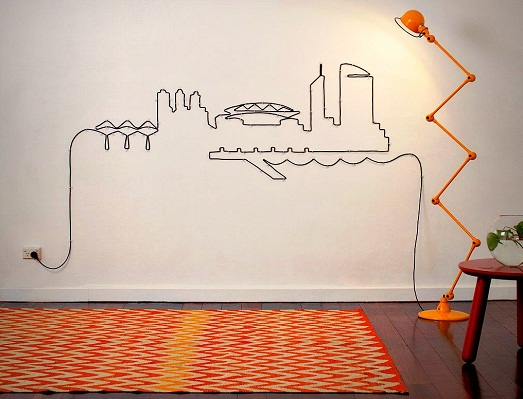 Как можно замаскировать провода в квартире?