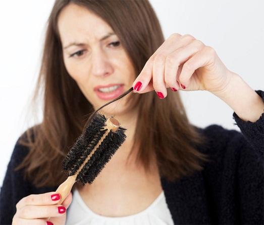 Волосы выпадают часто