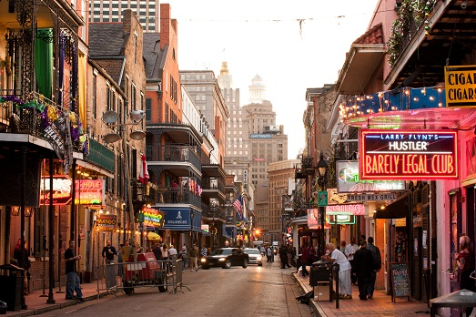 Бурбон-стрит, Новый Орлеан