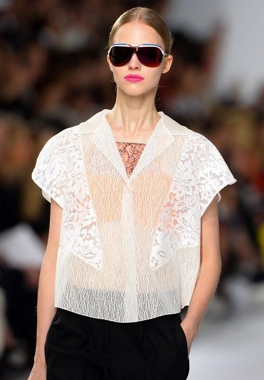 Модные фасоны блузок 2015