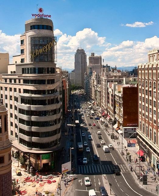 Гран Виа, Мадрид