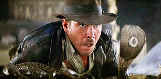 Indiana Jones in search of the lost ark