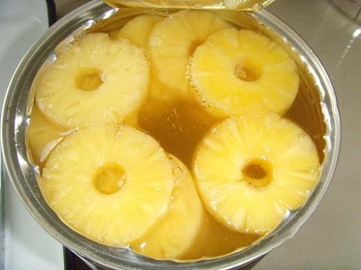 Блюда из ананаса свежего