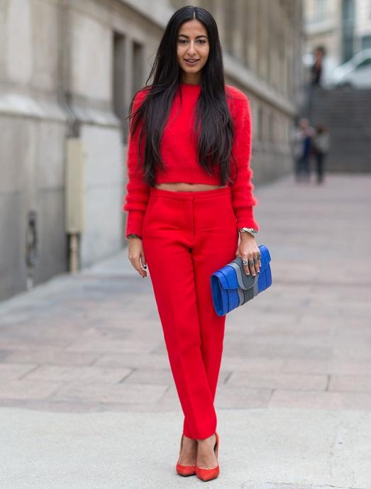 Красный комплект