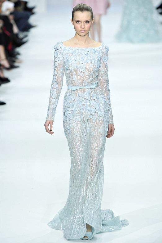 Модные и роскошные платья Elie Saab (20 фото)