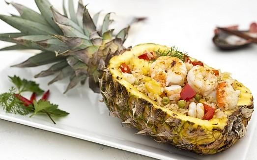 рецепт салата из ананаса и курицы и чеснока