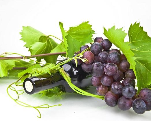 Содержится в винограде