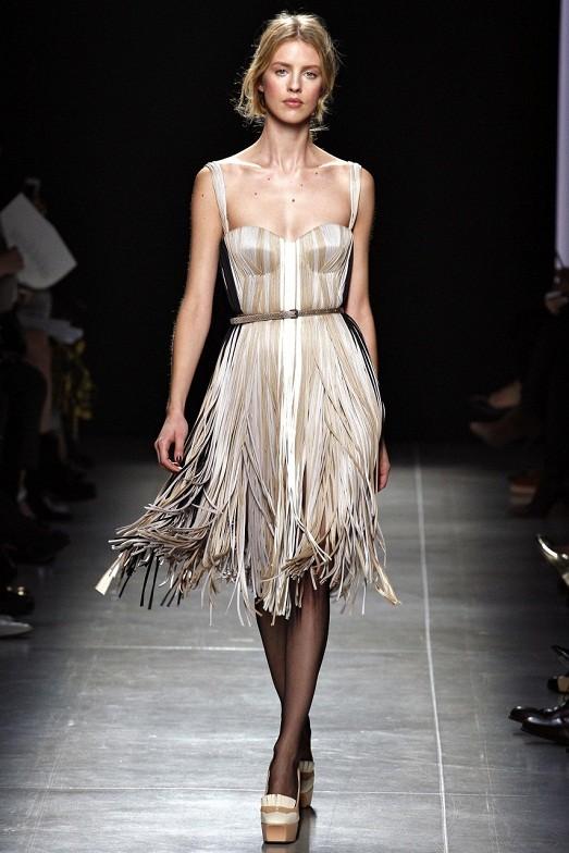 Платья юбки с бахромой