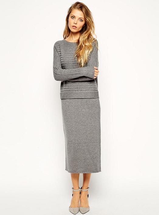 Шерстяная юбка – актуальная вещь в гардеробе (11 фото)