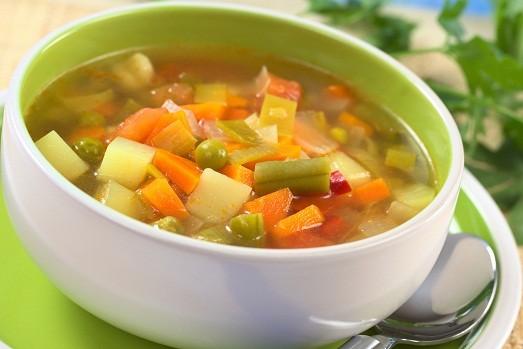 Овощной суп по кремлевской диете