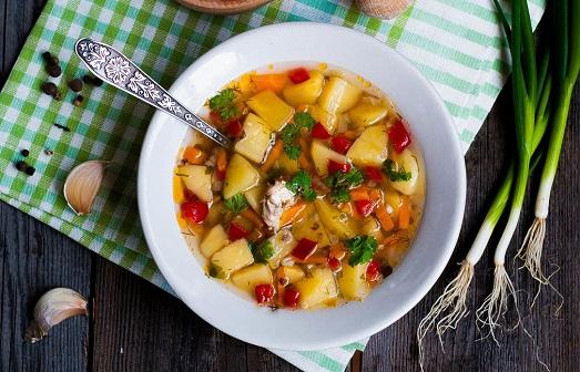 Простой и вкусный гречневый суп