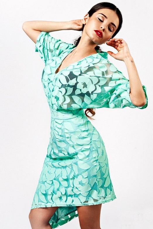 Как подобрать платье в стиле кимоно?