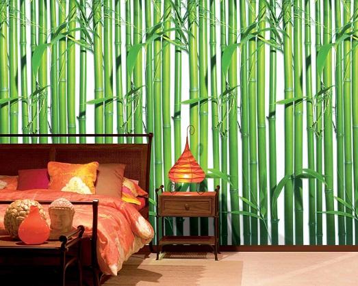 Бамбук – модный тренд в дизайне интерьера