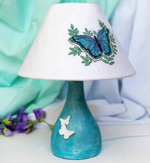 Простые идеи для создания настольной лампы