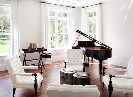 Как разместить пианино в интерьере жилья?