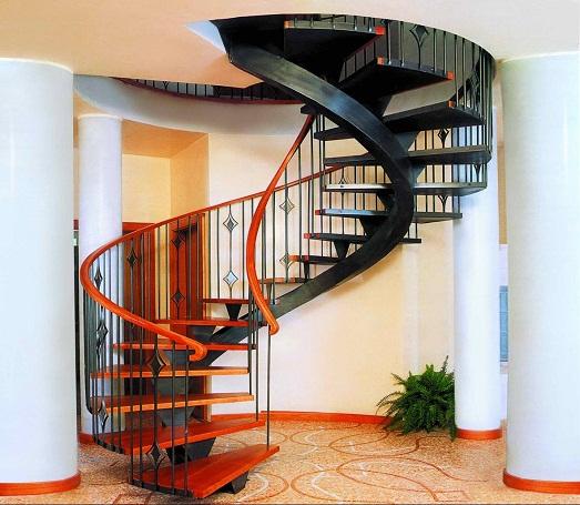 Стильные варианты дизайна лестницы в доме (12 фото)