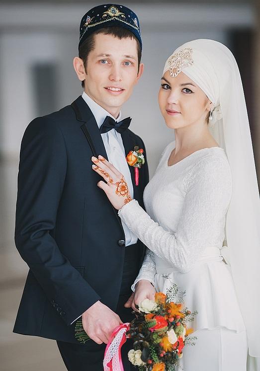 Свадебные платья для никах