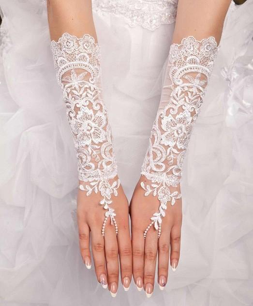 Кружевные перчатки своими руками