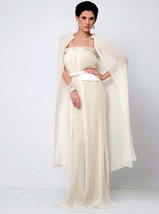 Накидка на плечи для открытого платья