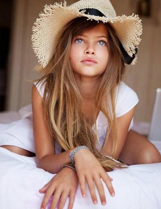 10 самых известных в мире детских моделей.