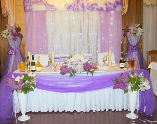 Лавандовый цвет свадьбы