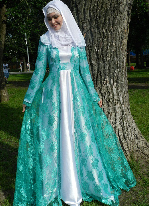 Каким должно быть платье на никахе