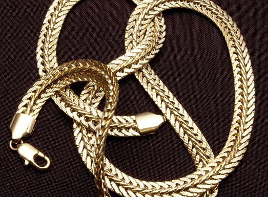 плетение цепочек из золота фото
