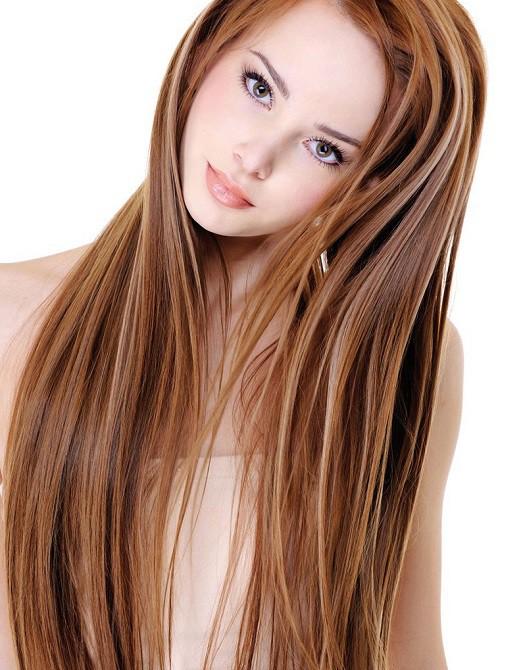 Каштановый цвет волос кому идёт