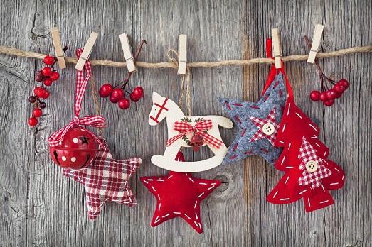 Как сделать красивую новогоднюю гирлянду