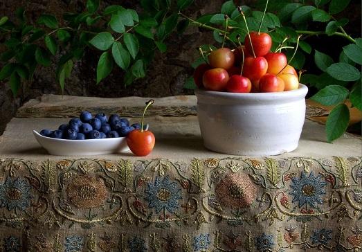 Красивая скатерть – украшение стола, доступное каждому