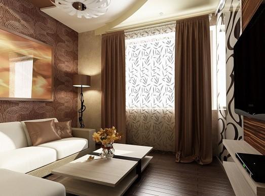 9 фото стильных вариантов дизайна комнаты для гостей