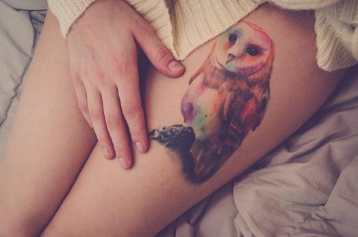 Что означает татуировка в виде птицы?