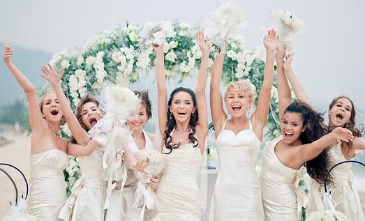 Безумная американская свадьба своими руками