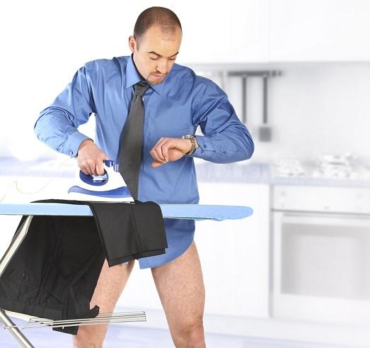 Как правильно гладить брюки?