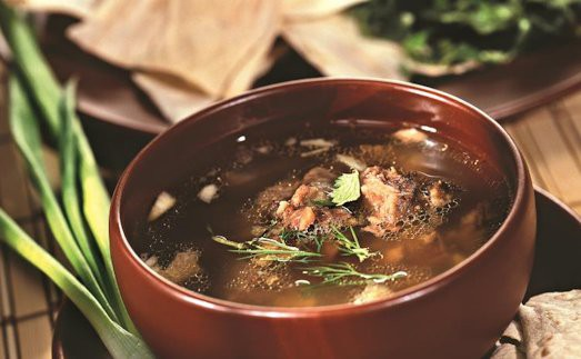 Как приготовить вкусный суп хаш?