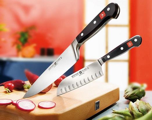Как правильно точить кухонные ножи?