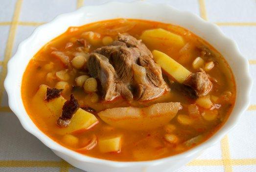 Бозбаш — секреты приготовления необычного супа